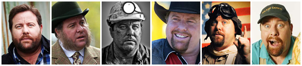 The many faces of Shane Jacobson
